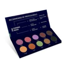 Affect Cosmetics - Evening Mood Eyeshadow Palette - Evening Mood szemhéjpúder paletta 10* 2g