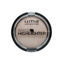 UMA COSMETICS - Baked  Highliter  - Silver Glory