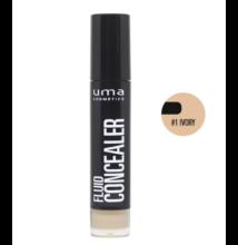 UMA COSMETICS -  Fluid  Concealer - Krém korrektor - IVORY