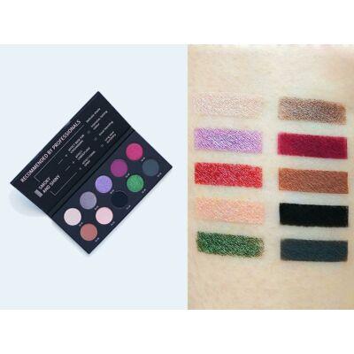 Affect Cosmetics - Smokey & Shine Eyeshadow Palette - Smokey & Shine szemhéjpúder paletta  10*2 g