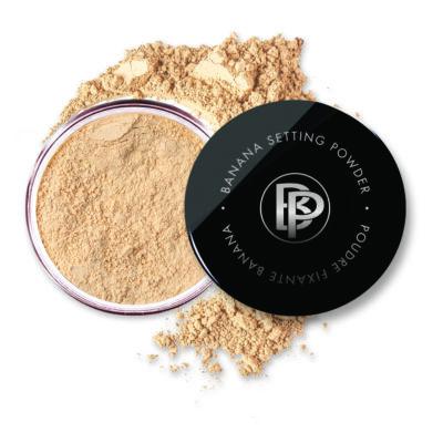 Bellápierre Cosmetics  -  Banana Setting Powder -  Ásvány alapozópor - medium - 4 g