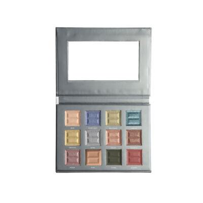 Bellápierre Cosmetics - 12 Color Pro Jewel Palette - Szemhéjárnyaló paletta