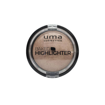 UMA COSMETICS - Backed  highliter - Golden  Glory