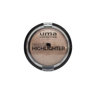 UMA COSMETICS - Backed  highliter - Golden  Glory