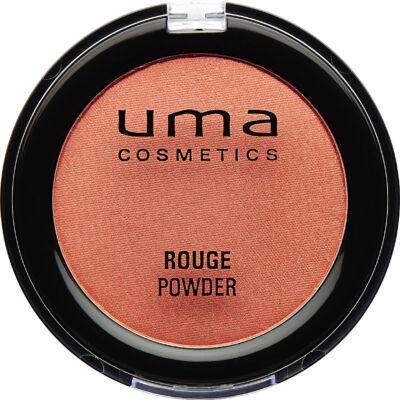 UMA COSMETICS -  Rouge Powder - Arcpirosító - CHIC CORAL