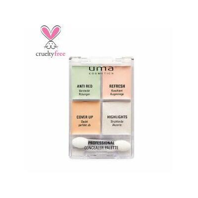 UMA COSMETICS - Concealer  palette  - korrektor palette