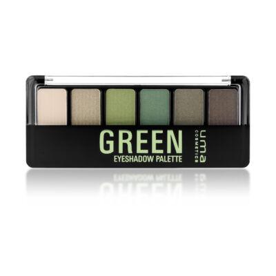 UMA  COSMETICS - Eyeshadow  - Szemhéjpúder paletta - zöld
