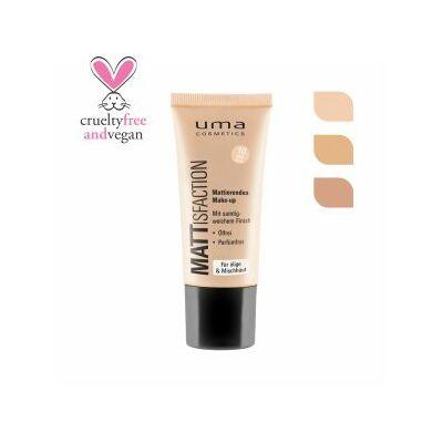 UMA COSMETICS Mattisfaction  make- up   - MATT IVORY
