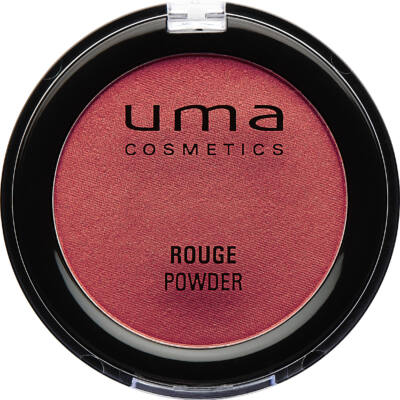 UMA COSMETICS -  Rouge  Powder - Arcpirosító -   RICH RED