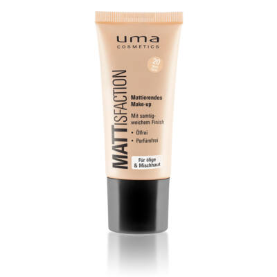 UMA COSMETICS -  MATTISFACTION MAKE-UP - MATT SAND 20